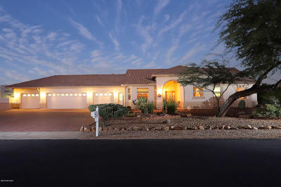 Tucson Single Family Home Active Contingent: 8201 N Sunset Ranch Loop