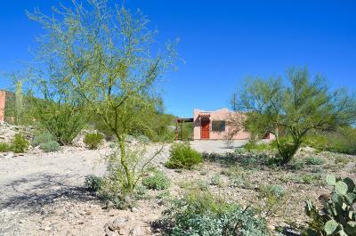Tucson Single Family Home Active Contingent: 1235 S Camino Arriba