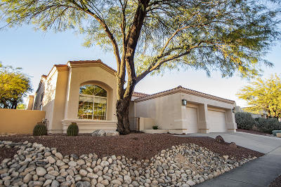 Tucson Single Family Home Active Contingent: 6577 N Shadow Run Drive
