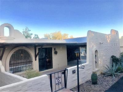Tucson Townhouse For Sale: 646 W Yaqui Drive