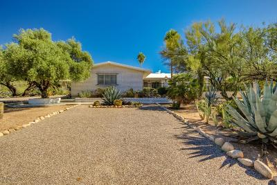 Tucson Single Family Home Active Contingent: 7200 N Leonardo Da Vinci Way