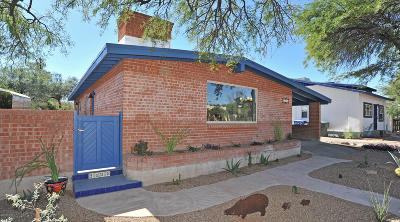 Tucson Single Family Home For Sale: 2130 E Helen Street