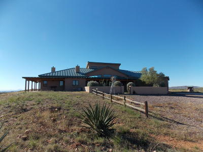 Cochise County Single Family Home For Sale: 10757 N High Lonesome Road