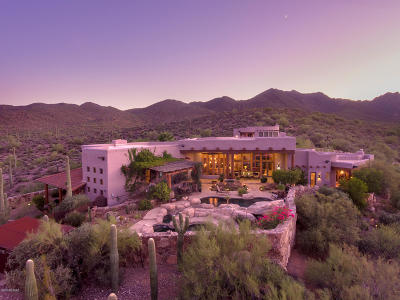 Tucson Single Family Home For Sale: 5153 W Saguaro Cliffs Drive