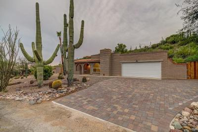 Tucson Single Family Home For Sale: 6865 N Cascade Spring Place