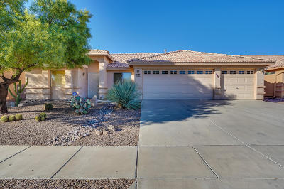 Tucson Single Family Home Active Contingent: 3382 S Sun Splash Drive