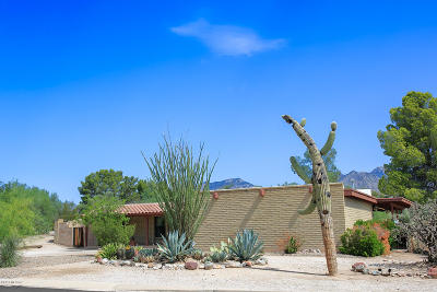Tucson Single Family Home For Sale: 7881 E Camino Los Brazos