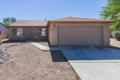 Pima County, Pinal County Single Family Home Active Contingent: 8940 E Desert Aire Street