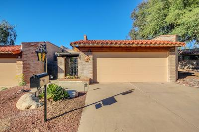 Oro Valley Townhouse Active Contingent: 8457 N Via Tioga