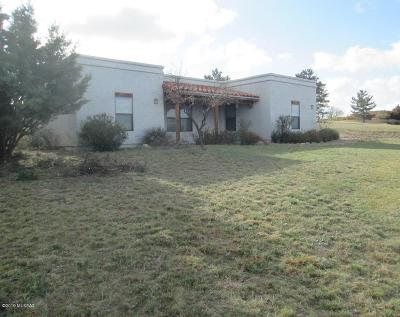 Sonoita Single Family Home For Sale: 35 Papago Springs Road