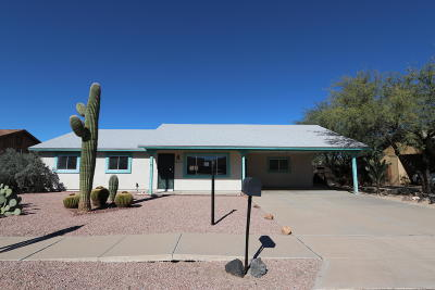 Tucson Single Family Home Active Contingent: 3248 W Wildwood Drive