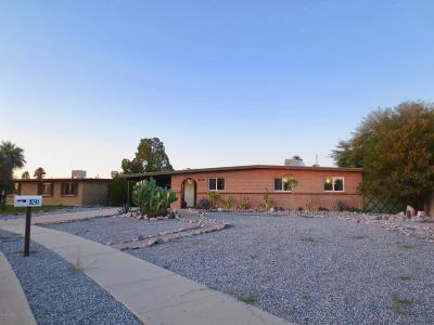 Tucson Single Family Home Active Contingent: 7231 E Edward Drive