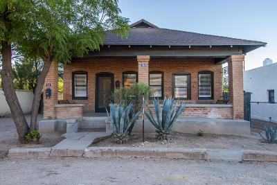Pima County, Pinal County Single Family Home For Sale: 34 & 36 W Kennedy Street