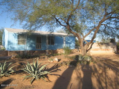 Pima County Manufactured Home For Sale: 13300 W Mustang Road