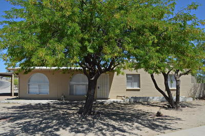 Pima County Single Family Home Active Contingent: 3001 S Lands End Road