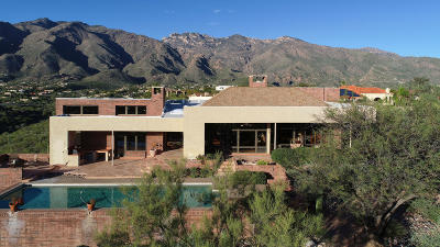 Tucson Single Family Home Active Contingent: 5925 N Via Serena