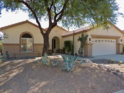 Tucson Single Family Home Active Contingent: 9478 N Twinkling Shadows Way