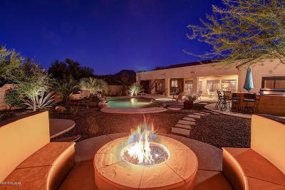 Marana Single Family Home Active Contingent: 4972 W Rocky Point Place