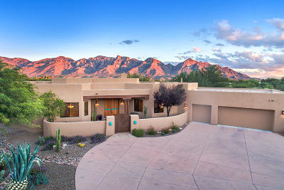 Oro Valley Single Family Home Active Contingent: 455 W Coyote Moon Place