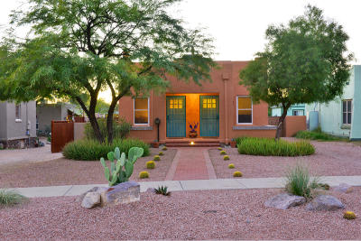 Tucson Single Family Home For Sale: 1233 N 3rd Avenue