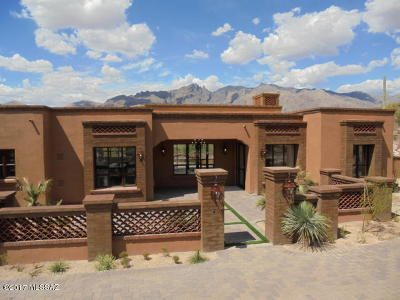 Tucson Single Family Home For Sale: 5414 N Placita Gato Montes
