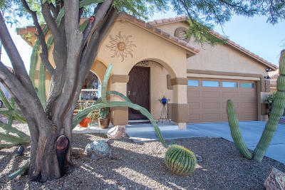 Tucson Single Family Home Active Contingent: 3537 W Camino De Talia