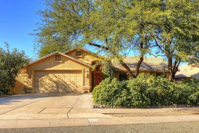 Tucson Single Family Home For Sale: 2720 W Calle Cuero De Vaca