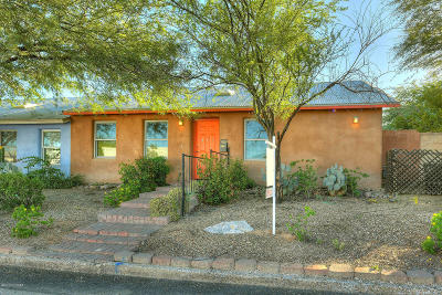 Tucson AZ Single Family Home Active Contingent: $275,000