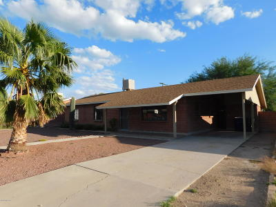 Tucson Single Family Home For Sale: 1507 W Greenlee Street