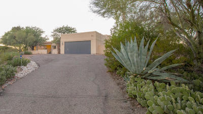 Tucson Single Family Home Active Contingent: 3691 N Round Rock Drive