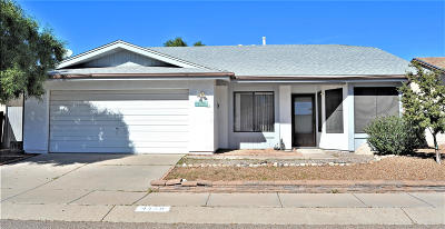 Tucson Single Family Home For Sale: 4130 W Crescent Street