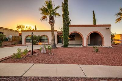 Tucson Single Family Home For Sale: 2301 N Camino Emiliano