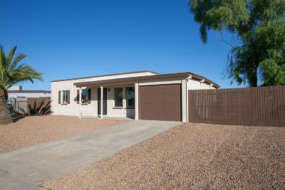 Tucson Single Family Home For Sale: 7265 E Marigold Circle