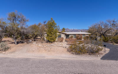 Tucson Single Family Home For Sale: 8261 E Circulo Del Oso