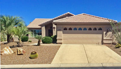 Saddlebrooke, Saddlebrooke Ranch Single Family Home For Sale: 65766 E Rocky Trail Drive