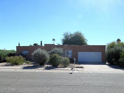 Tucson Single Family Home Active Contingent: 3651 W Eastham Lane