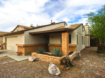 Tucson Single Family Home Active Contingent: 4540 W Meggan Place