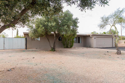 Tucson Single Family Home Active Contingent: 3075 W Calle Paulo