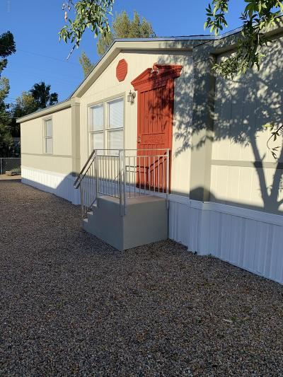 Pima County Manufactured Home Active Contingent: 3002 W Sahara Street