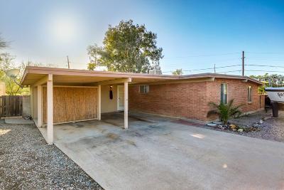 Tucson AZ Single Family Home For Sale: $210,000