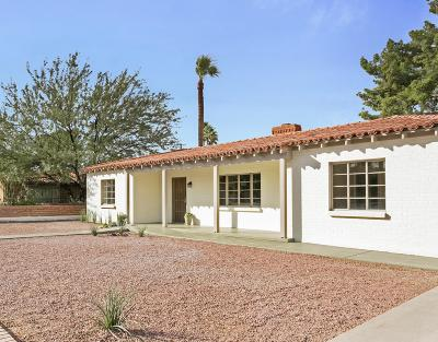 Tucson Single Family Home For Sale: 247 N Sierra Vista Drive