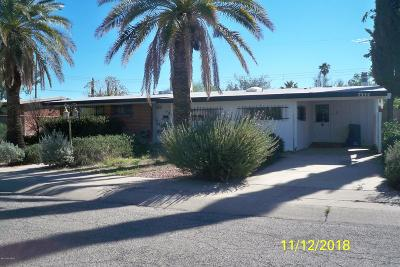 Tucson Single Family Home For Sale: 7334 E Princeton Drive