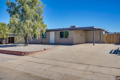 Tucson Single Family Home For Sale: 4749 S Rose Place