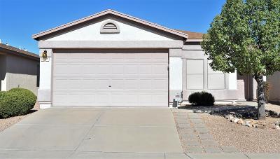 Tucson Single Family Home For Sale: 7787 E Rooner Drive