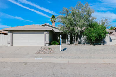 Tucson Single Family Home For Sale: 1540 W Highsmith Drive