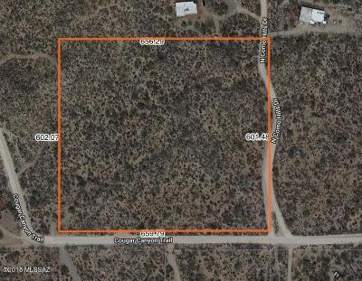 Tucson Residential Lots & Land For Sale: 2690 W Cougar Canyon Trail
