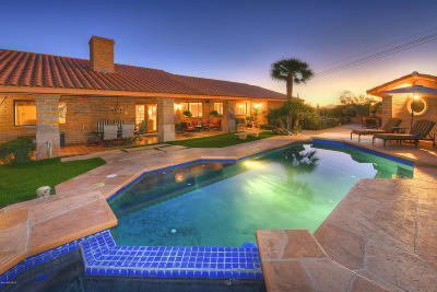 Tucson Single Family Home For Sale: 6530 E Golden Hills Place