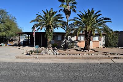Tucson Single Family Home For Sale: 7551 E David Drive