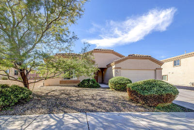 Tucson Single Family Home For Sale: 7163 W Oracle Ridge Trail