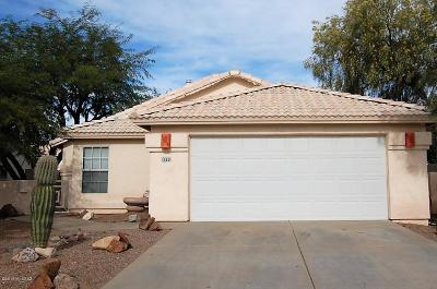 Tucson Single Family Home For Sale: 8590 N Cantora Way